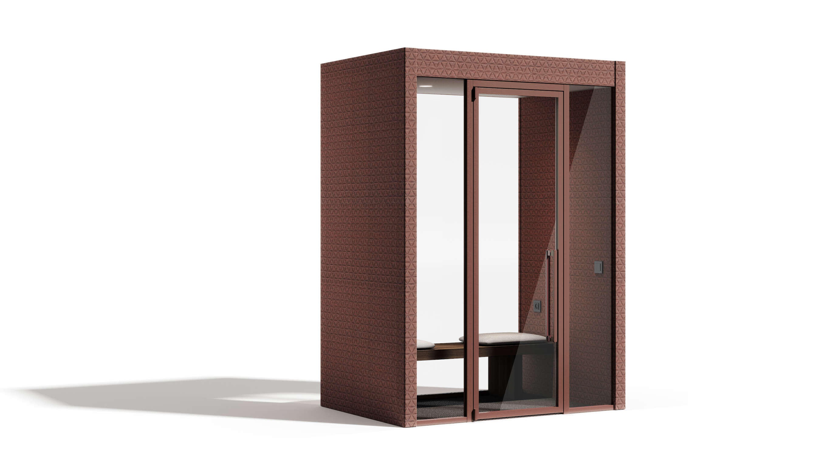 Bibiena acoustic cabin manerba for Manerba spa